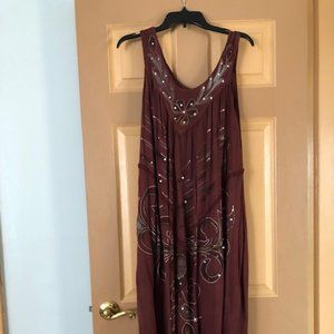 Women house dress size 1X